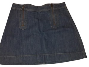 H&M Mini Skirt Blue Denim