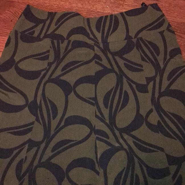 H&M Skirt Green and Black Image 3