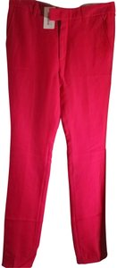 Gucci Trouser Pants Bright red