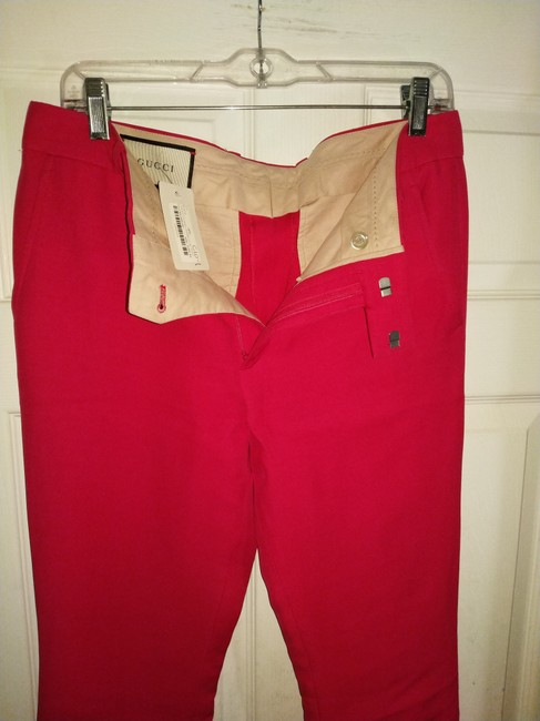Gucci Trouser Pants Bright red Image 5