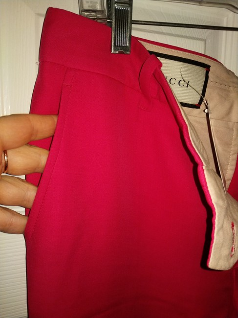 Gucci Trouser Pants Bright red Image 6