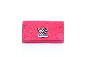 Louis Vuitton Louis Vuitton Twist Wallet Coquelicot Epi Leather