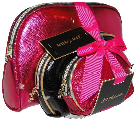 Preload https://img-static.tradesy.com/item/23165311/juicy-couture-pink-and-black-set-cosmetic-bag-0-1-540-540.jpg