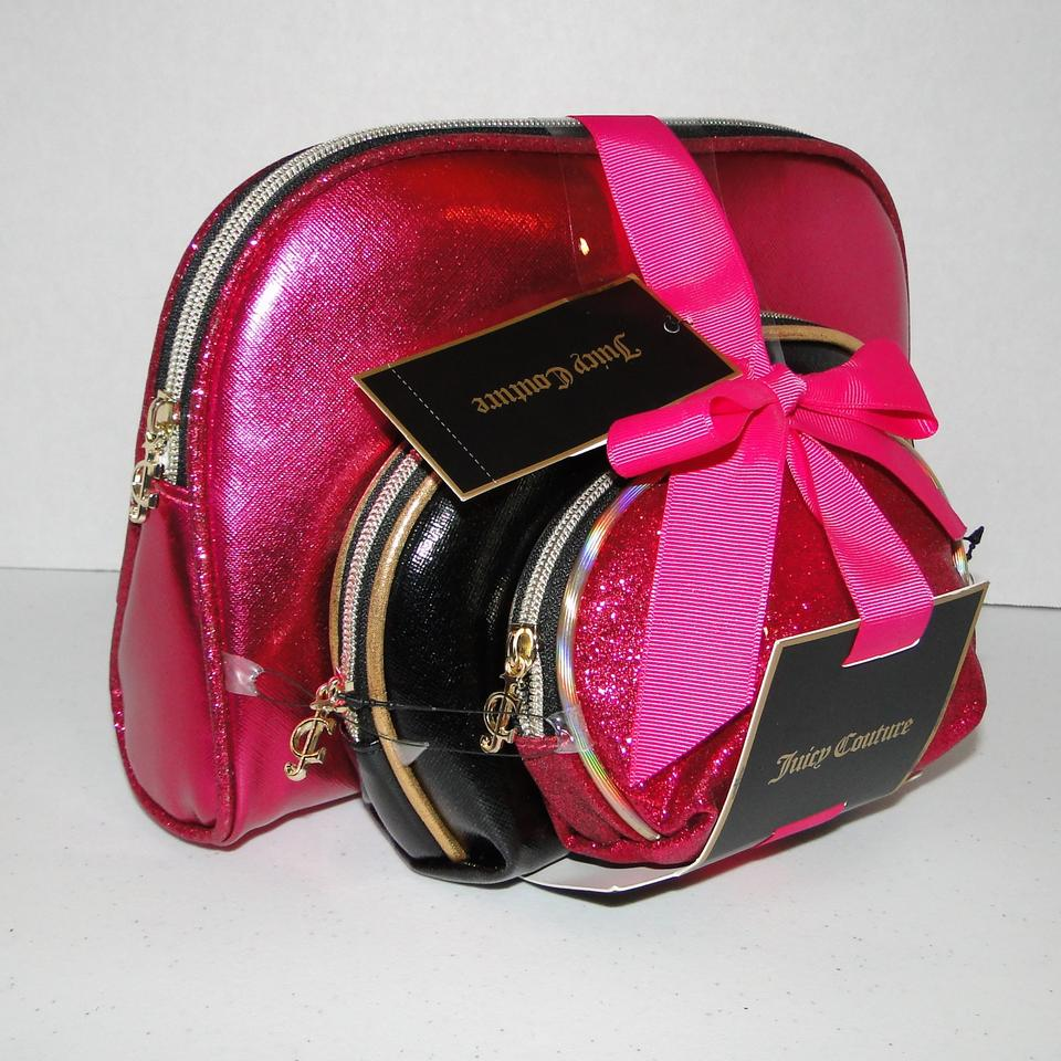Juicy Couture Cosmetic Bag Set 12345678910