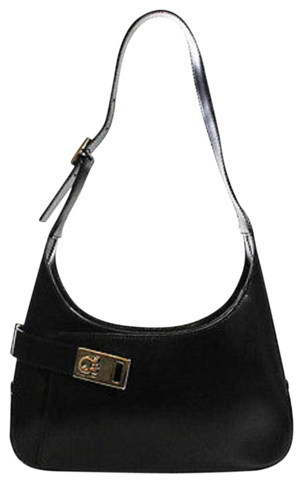 Salvatore Ferragamo Dressy Or Casual Mod And Linear Great For Everyday  Expandable Front Mint Vintage Hobo ... b6891b295ad1a