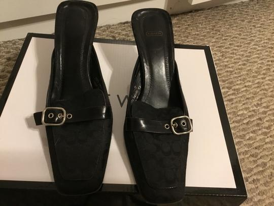 Coach Black Wedges Image 1