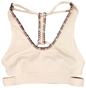 Free People Free People stitch detail sports bra/top.
