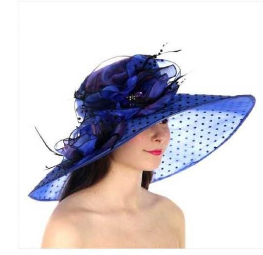 Preload https://img-static.tradesy.com/item/23165410/blue-new-dress-formal-dressy-church-hat-0-0-540-540.jpg