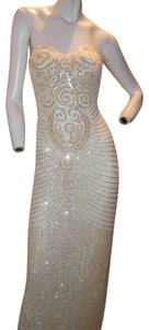 Just Female Prom Ball Gown Vintage Pageant Dress