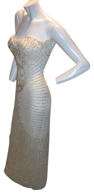 Just Female Prom Ball Gown Vintage Pageant Dress Image 1