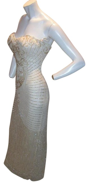 Just Female Prom Ball Gown Vintage Pageant Dress Image 2