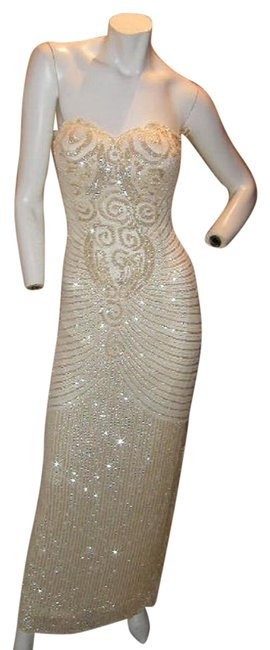Just Female Prom Ball Gown Vintage Pageant Dress Image 5