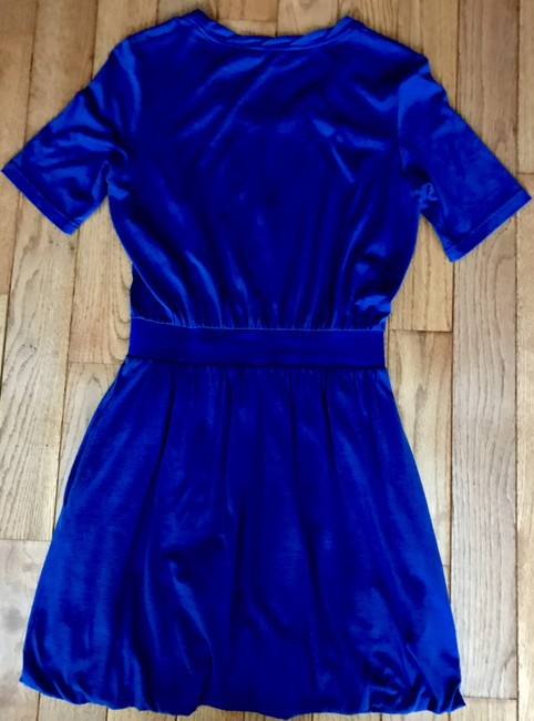 See by Chloé short dress Blue Slouchy Elastic Waist Designer Size 4 on Tradesy Image 2