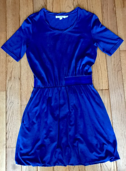 See by Chloé short dress Blue Slouchy Elastic Waist Designer Size 4 on Tradesy Image 4