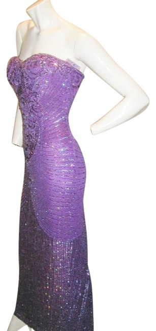Just Female Prom Ball Gown Vintage Pageant Dress Image 6