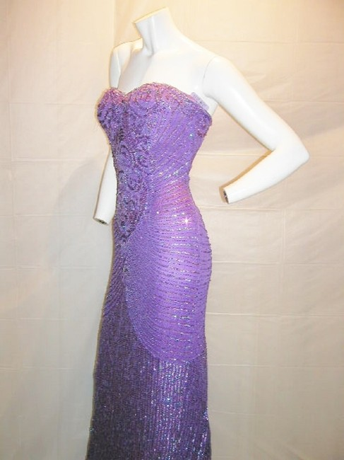 Just Female Prom Ball Gown Vintage Pageant Dress Image 11