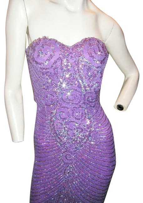 Just Female Prom Ball Gown Vintage Pageant Dress Image 3