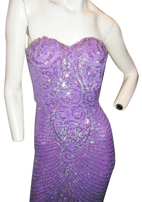 Just Female Prom Ball Gown Vintage Pageant Dress Image 4