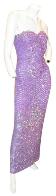 Just Female Prom Ball Gown Vintage Pageant Dress Image 7