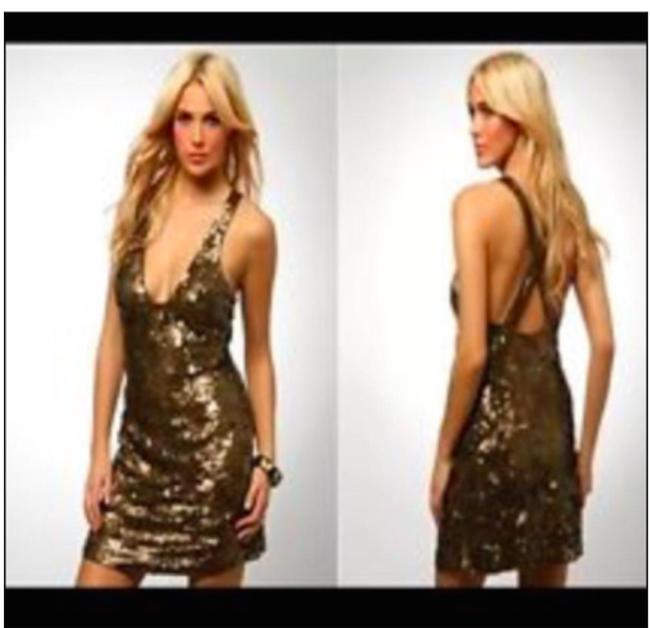 French Connection Sequins Nye Sexy Timeless Dress Image 7