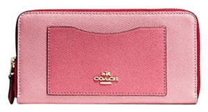 Coach COACH colorblock ACCORDION ZIP WALLET 57605 F54007