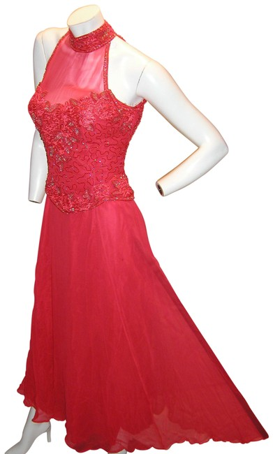 Just Female Prom Ball Gown Pageant Formal Dress Image 3