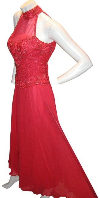 Just Female Prom Ball Gown Pageant Formal Dress Image 8