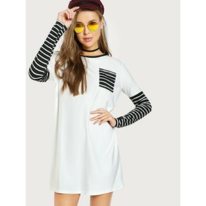 Hollywood Boutique short dress Black and White on Tradesy