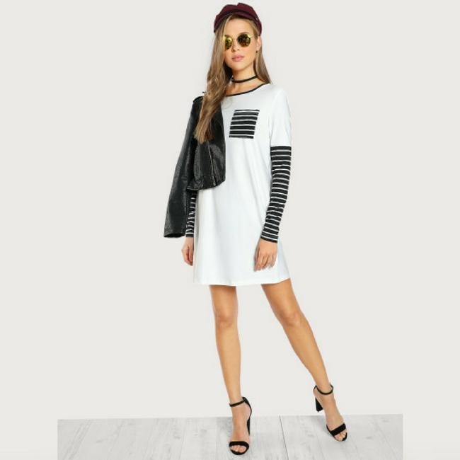 Hollywood Boutique short dress Black and White on Tradesy Image 1