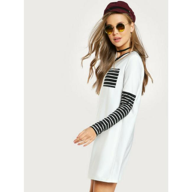 Hollywood Boutique short dress Black and White on Tradesy Image 3