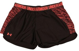 Under Armour Gray and Coral Shorts