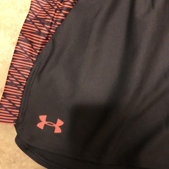 Under Armour Gray and Coral Shorts Image 1