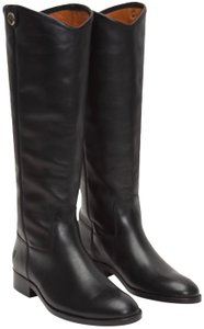 Frye Melissa Riding Leather Black Boots