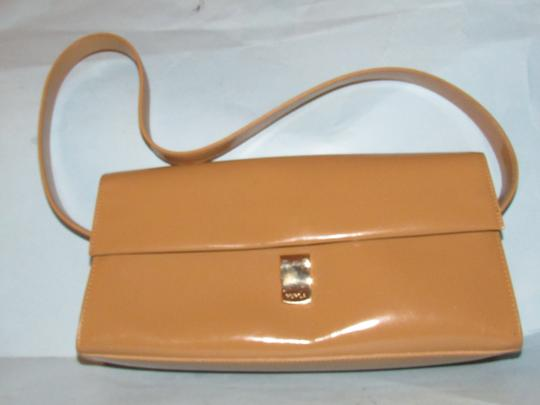 Furla Great Everyday Mint Vintage Dressy Or Casual Or Tan Color Early Style Shoulder Bag Image 10