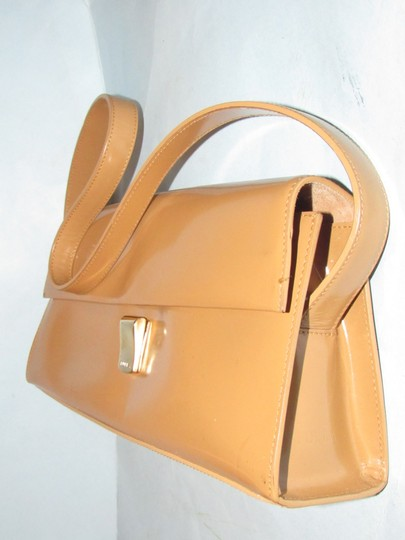 Furla Great Everyday Mint Vintage Dressy Or Casual Or Tan Color Early Style Shoulder Bag Image 11