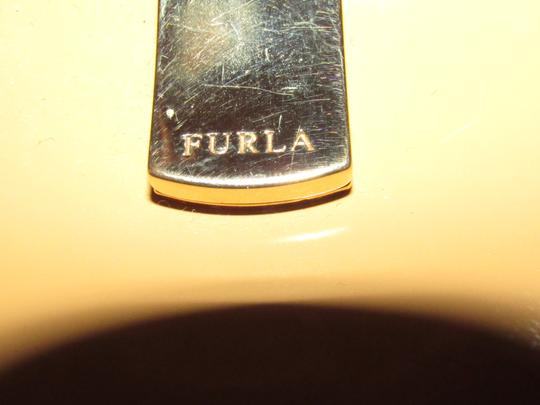 Furla Great Everyday Mint Vintage Dressy Or Casual Or Tan Color Early Style Shoulder Bag Image 2