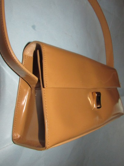 Furla Great Everyday Mint Vintage Dressy Or Casual Or Tan Color Early Style Shoulder Bag Image 4