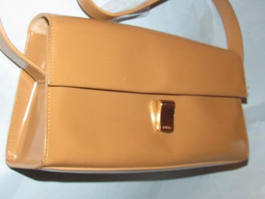 Furla Great Everyday Mint Vintage Dressy Or Casual Or Tan Color Early Style Shoulder Bag Image 6