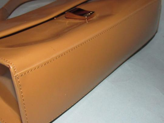 Furla Great Everyday Mint Vintage Dressy Or Casual Or Tan Color Early Style Shoulder Bag Image 7