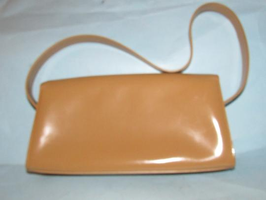 Furla Great Everyday Mint Vintage Dressy Or Casual Or Tan Color Early Style Shoulder Bag Image 9