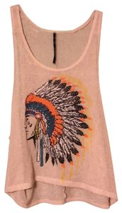 The Classic Top tan with beaded