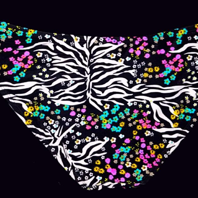 Freestyle Revolution Wildflower Animal Print Bikini Bottoms Image 3
