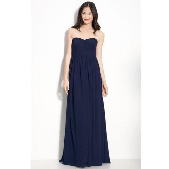 Preload https://img-static.tradesy.com/item/23165968/jenny-yoo-navy-chiffon-aidan-formal-bridesmaidmob-dress-size-6-s-0-0-540-540.jpg