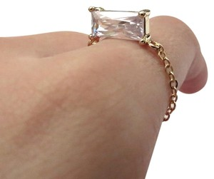 Elliot Francis Gold Plated 3d Prism Ring