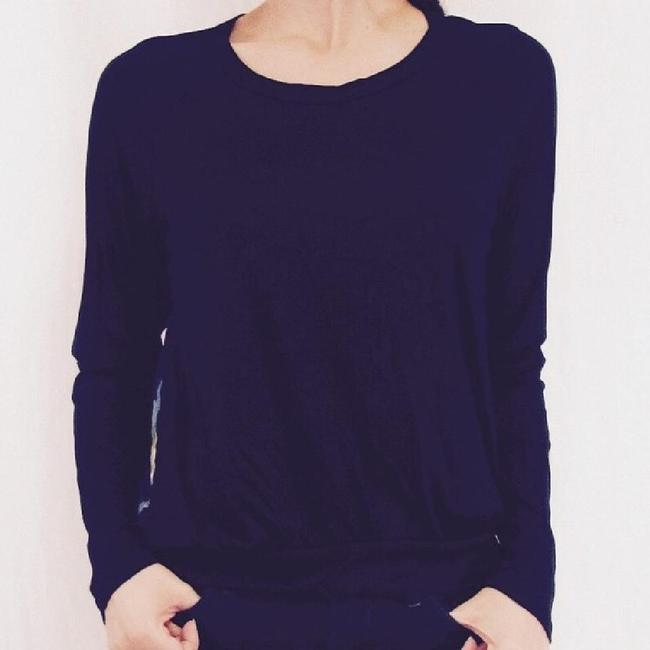 Other Watercolor Classic Sheer Cool Top Black Image 1