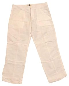 State Of Grace Capris White