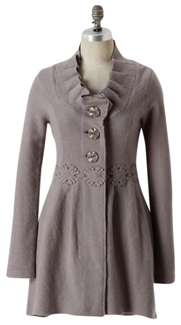 Item - Gray XL Alice In Autumn Sweater By Charlie & Robin Coat Size 16 (XL, Plus 0x)