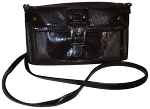 Stone Mountain Accessories Leather Patent Cross Body Bag