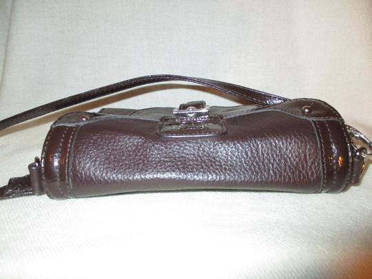 Stone Mountain Accessories Leather Patent Cross Body Bag Image 10