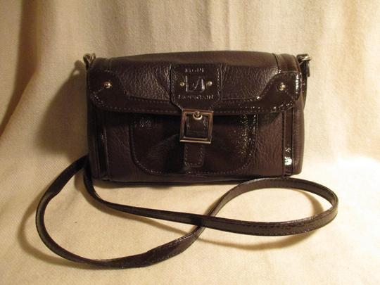 Stone Mountain Accessories Leather Patent Cross Body Bag Image 11